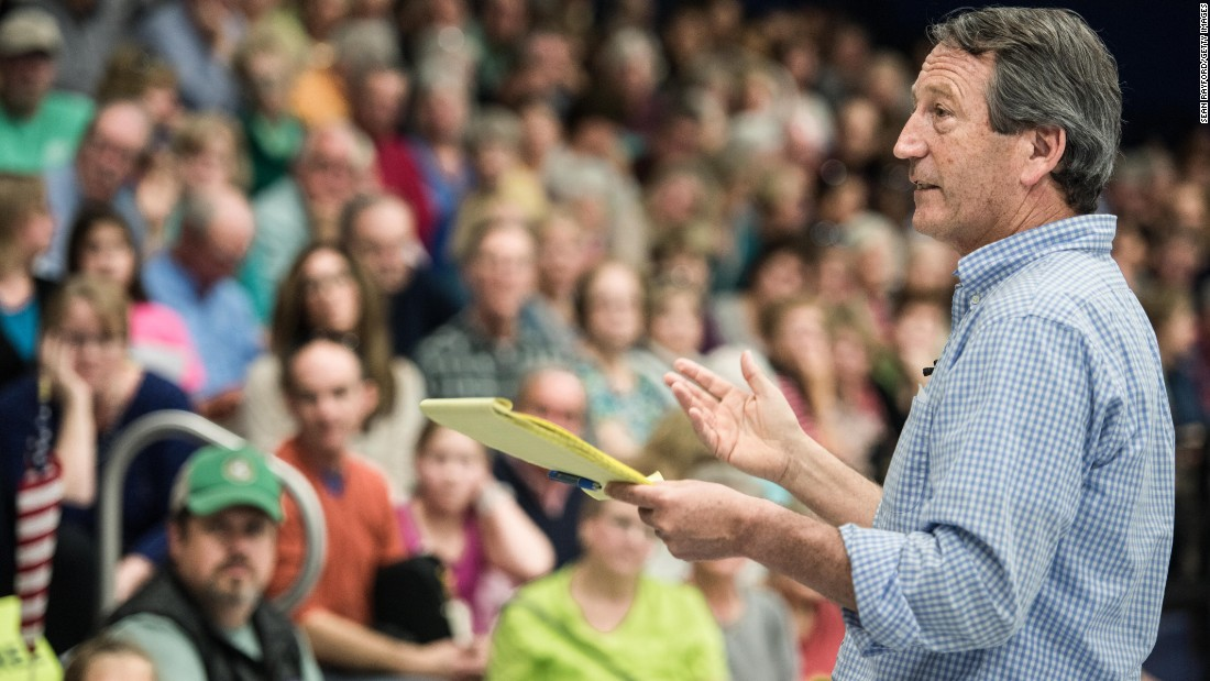 Rep. Mark Sanford: 'Testosterone can get you in trouble'