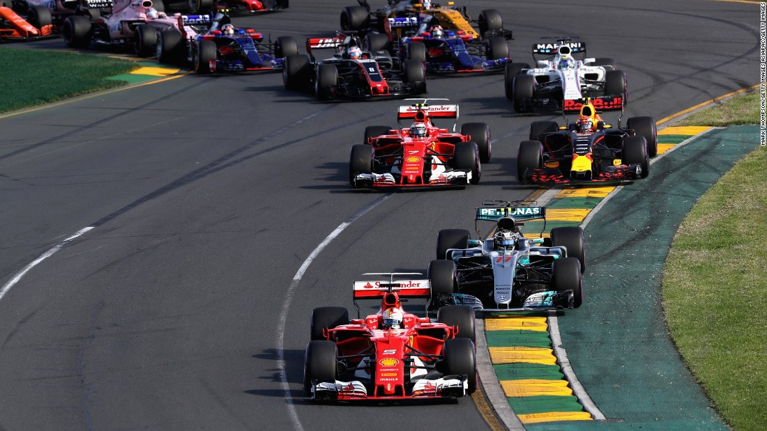 06d39027f1f550 The Ferrari driver started second on the Albert Park grid but kept pace  with early race leader Lewis Hamilton before surging ahead when the Briton  was held ...