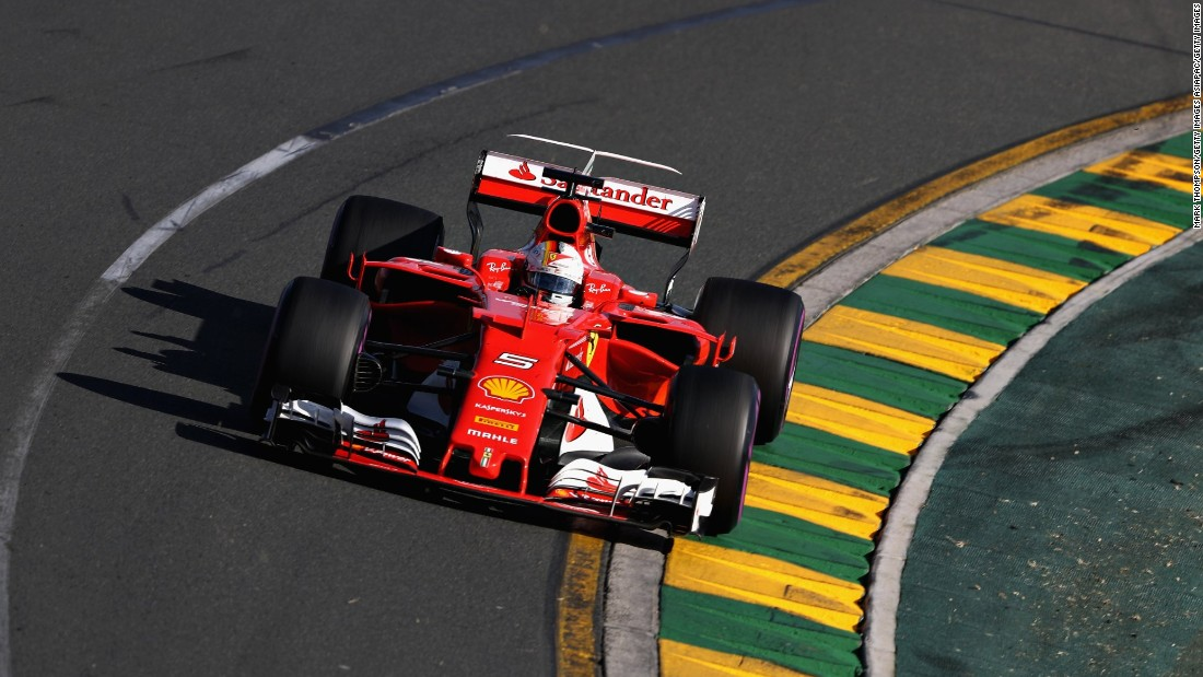 Vettel would refuse to return the lead for the remainder of the race.