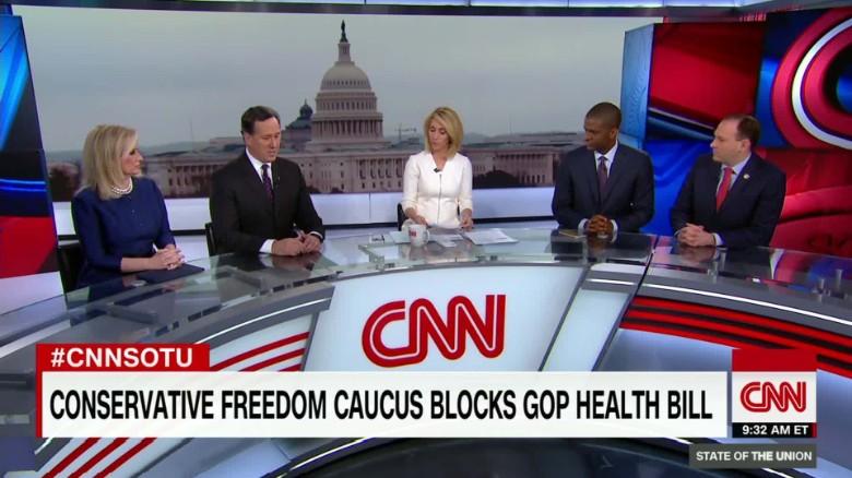 Hannity sides with Freedom Caucus over Trump on health care