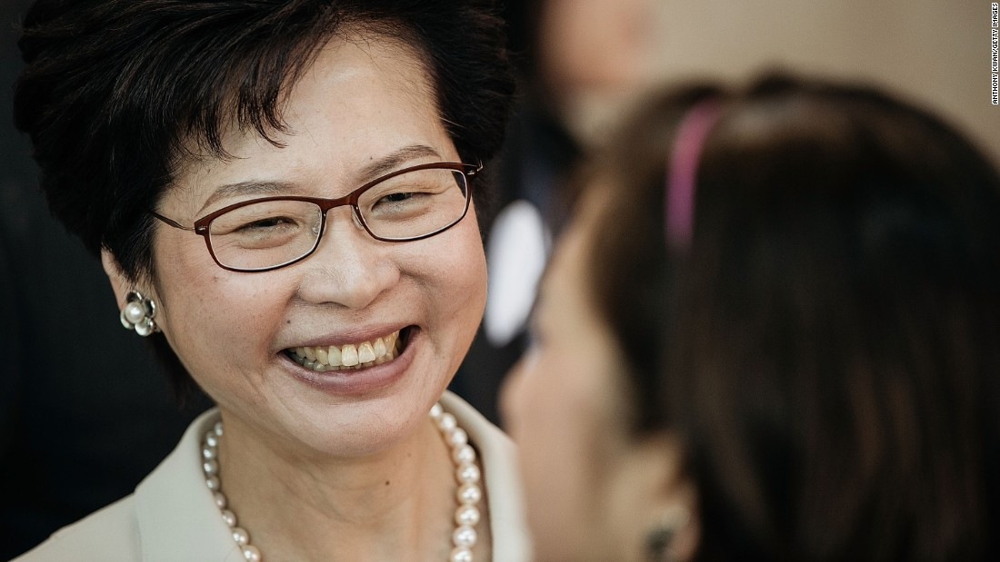 Hong Kong: Carrie Lam selected to be city's next leader