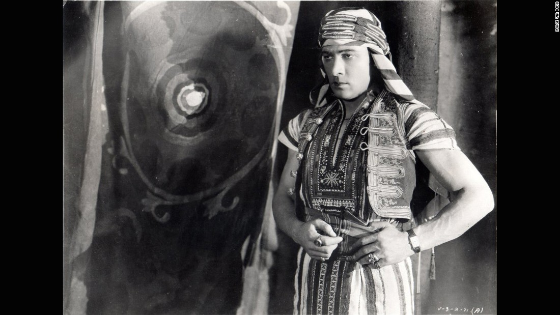 90 years ago, Rudolph Valentino insisted on wearing his Cartier Tank in Son of the Sheik.