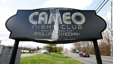 CINCINNATI, OH - MARCH 26:  The exterior of the Cameo Night Club after a shooting that left one man dead and injuring 15 others March 26, 2017 in Cincinnati, Ohio. No suspect  has been arrested after a dispute broke out among several men. Photo by Bill Pugliano/Getty Images)