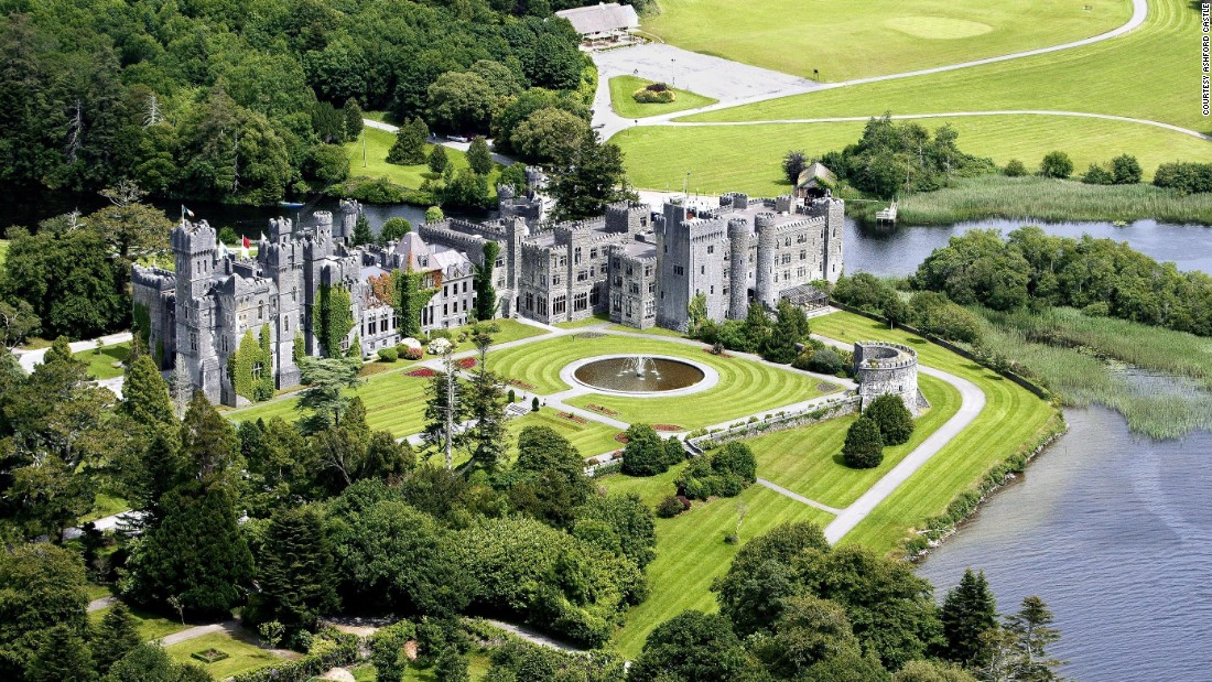 <strong>Ashford Castle</strong> -- Fresh off a $75 million renovation, Ashford Castle in Cong, Ireland, is more opulent and over-the-top than ever.