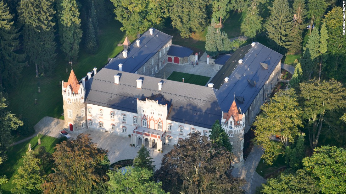 <strong>Chateau Herálec </strong>-- This 13th-century chateau in Herálec, Czech Republic, is about an hour's drive from Prague and a destination unto itself.