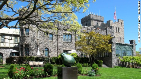 Just 30 miles from Manhattan, the Castle Hotel & Spa in Tarrytown was renovated in 2013.