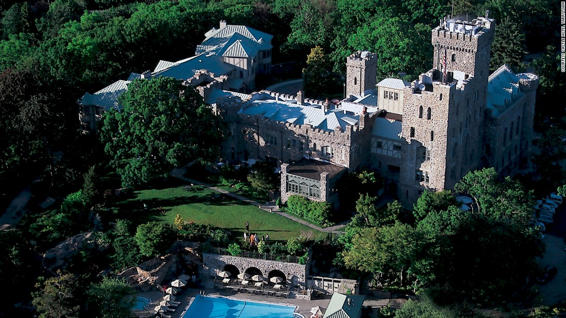 <strong>The Castle Hotel & Spa</strong> -- This luxurious castle in Tarrytown, New York, dates back to 1897. It was converted to a hotel in the 1990s and renovated in 2013.