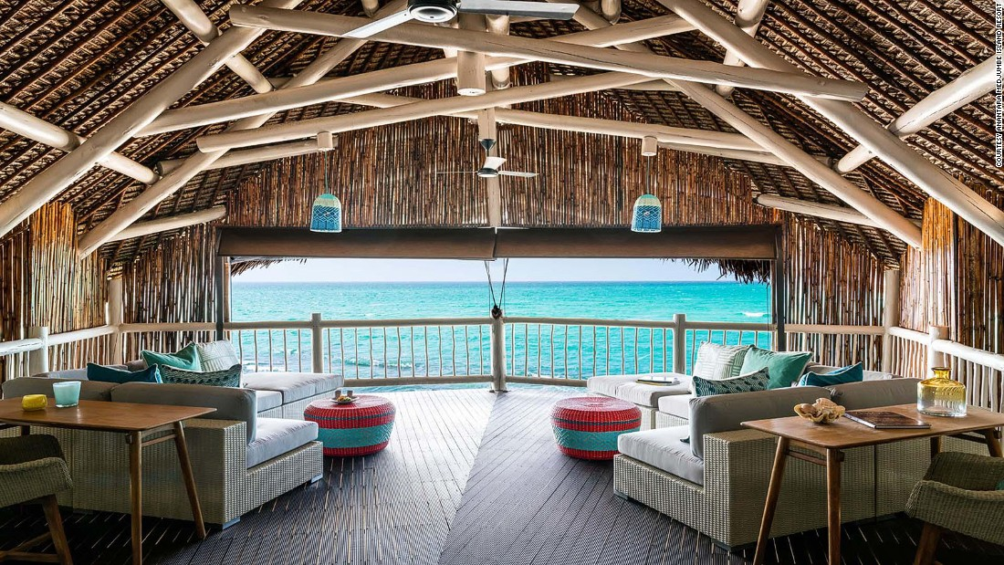 <strong>Anantara Medjumbe Island Resort (Mozambique): </strong>The wooden, thatched-roof villas may look humble on the outside but they're decked out with luxurious interiors, complete with spectacular ocean views.