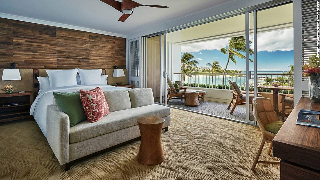 <strong>Four Seasons Resort Oahu at Ko Olina (Hawaii, USA): </strong>Opened in the summer of 2016, Oahu's newest resort -- located on the quiet western side of the island -- might also be its most beautiful.
