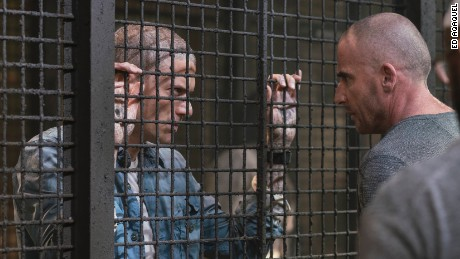 Wentworth Miller, Dominic Purcell in 'Prison Break'