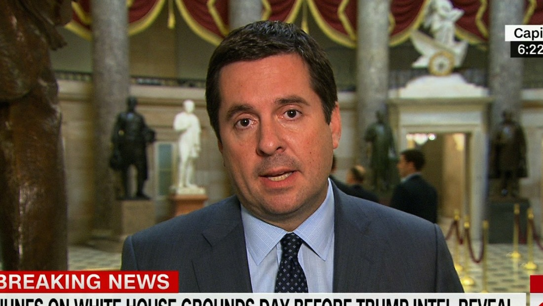 First on CNN: Devin Nunes continues reviewing Russia intelligence, despite recusal