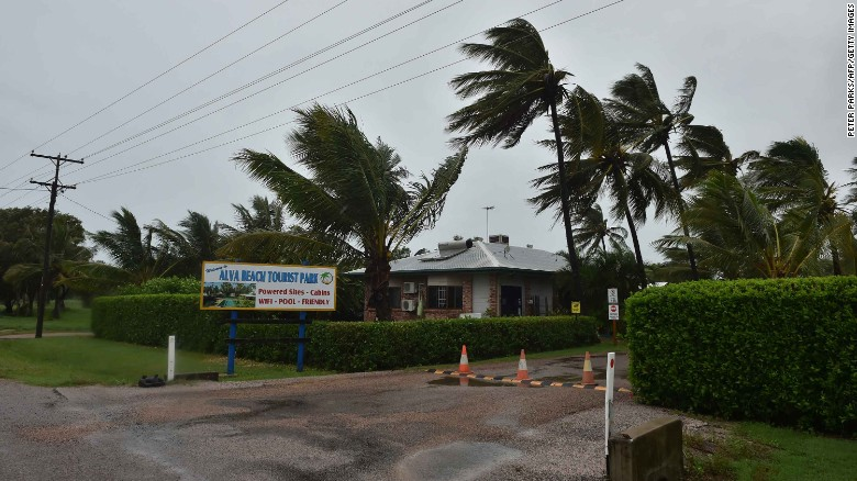 Catastrophe declared for severe tropical Cyclone Debbie in Australia