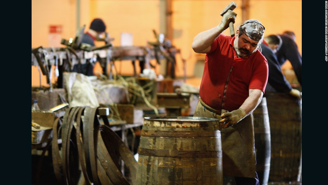 Whiskey sales have increased globally over the past decade, leading to a flourishing whiskey barrel industry, largely in the US.<br />