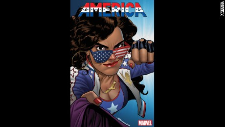 Miss America attends Sotomayor University, and between classes, she picks fights with evil aliens.