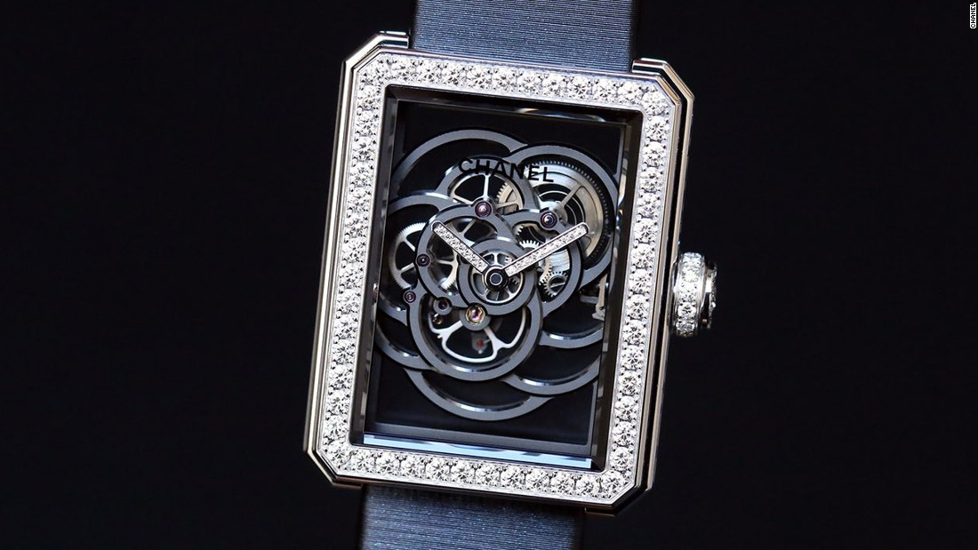 """Last year the star of the fair (at least in my eyes) was the Monsieur de Chanel with new in-house caliber 1 movement. This year <a href=""http://www.chanel.com/en_GB/"" target=""_blank"">Chanel</a> followed up with the Première Camélia Skeleton watch with the caliber 2, an in-house movement designed to look like a Camélia flower. A fashion brand taking its watch movements seriously? Yes, please."" -- <a href=""https://www.hodinkee.com/articles/chanel-premiere-camelia-skeleton-watch-introducing"" target=""_blank"">Cara Barrett</a>"