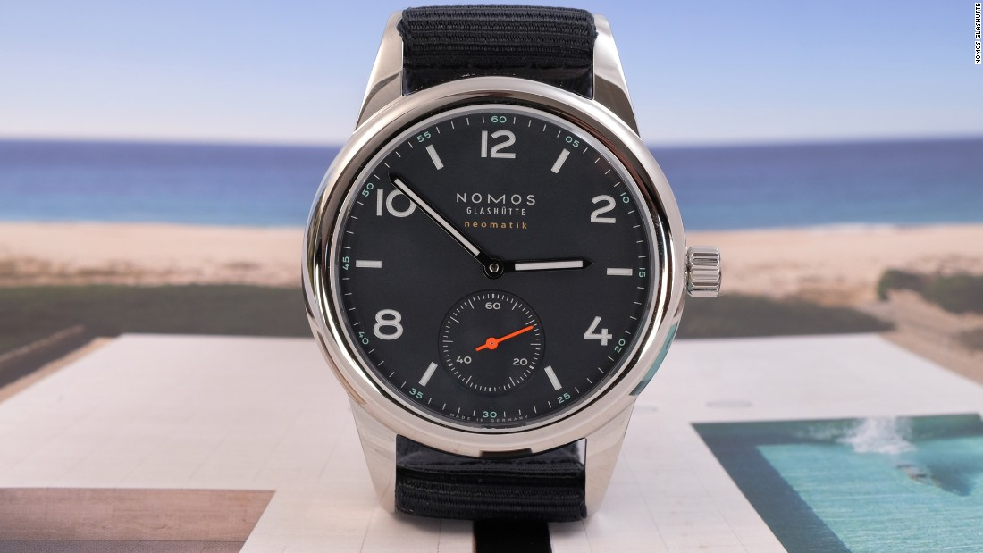 """When you talk about watches that offer value for money, <a href=""http://www.nomos-glashuette.com/"" target=""_blank"">NOMOS</a> is always a part of the conversation. I've long liked the Club collection, but to me this is the logical conclusion of where the watch has been going for years, with a slim automatic movement, balanced 37mm case, and tasteful colors."" -- <a href=""https://www.hodinkee.com/articles/nomos-glashutte-club-neomatik-live-pics-and-pricing"" target=""_blank"">Stephen Pulvirent</a>"