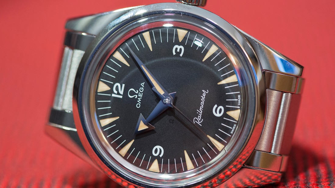 """Vintage-inspired watches were plentiful this year, with <a href=""http://www.omegawatches.com/"" target=""_blank"">Omega</a> at the forefront of this trend. The Limited Edition Railmaster kept the look and dimensions that I loved in the 1957 original, while embracing the latest technologies available for its anti-magnetic movement. It is safe to predict that the 3,557 pieces will be gone fast."" -- <a href=""https://www.hodinkee.com/articles/first-take-the-new-omega-releases-baselworld-2017"" target=""_blank"">Louis Westphalen</a>"
