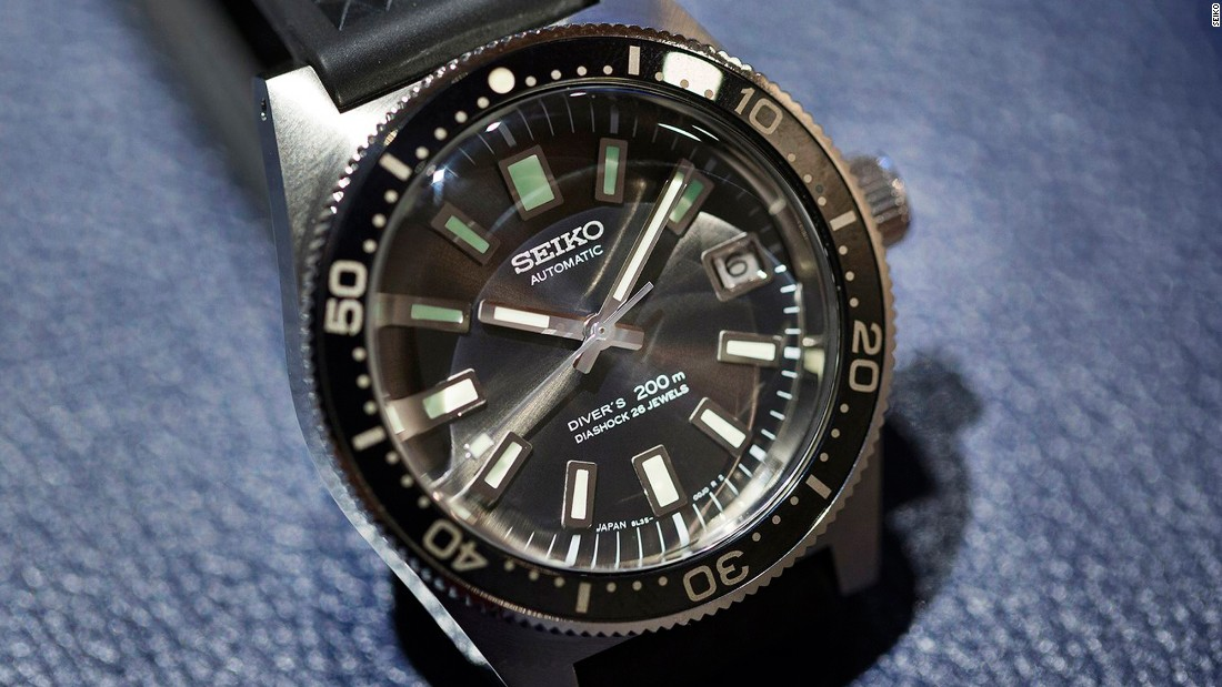 """This model is a near-perfect reproduction of the very first dive watch <a href=""http://www.seiko.co.uk/"" target=""_blank"">Seiko</a> ever made, in 1965 -- but upgrades like a tougher case, better water resistance, and improved accuracy, make this a thoroughly modern watch."" -- <a href=""https://www.hodinkee.com/articles/the-seiko-prospex-diver-sla017-based-on-the-first-seiko-diver-6217-from-1965-and-the-prospex-diver-s"" target=""_blank"">Jack Forster</a>"