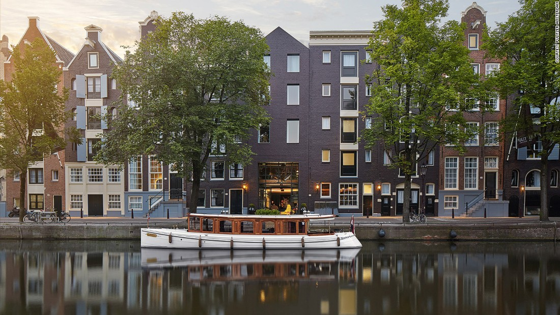 12 of the best canal hotels in amsterdam for Pulitzer hotel in amsterdam