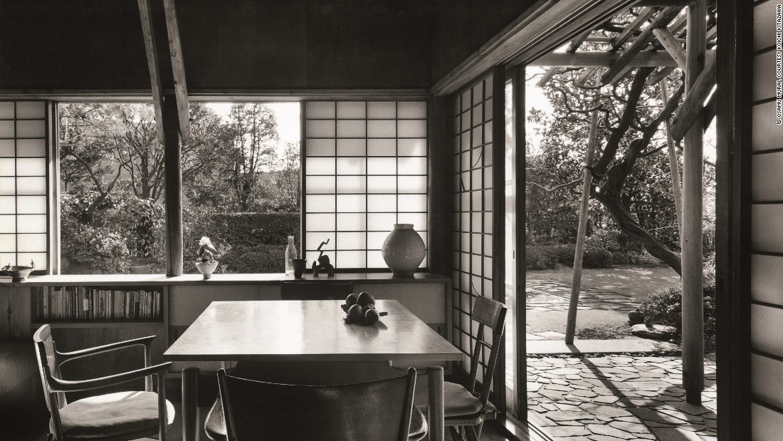 Czech-born American architect Antonin Raymond and his wife Noémi designed this house in Tokyo, incorporating Japanese minimalism, carpentry and paper-screens. Like many masterpieces in Japan, it has since been demolished.