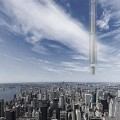 analemma tower over new york city