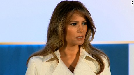 Melania Trump highlights women's empowerment in keynote speech