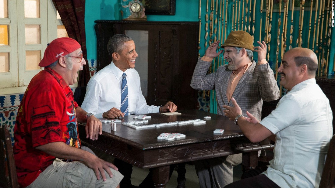 """Luis Silva, the comedian known as 'Panfilo' (second right), gained worldwide fame in 2016 when he appeared in a sketch with President Obama in Havana,"" says <a href=""http://edition.cnn.com/profiles/patrick-oppmann-profile"" target=""_blank"">Oppmann</a>. ""But for years, Panfilo has entertained Cubans with his provocative humor that skirts government censorship to poke fun at the absurdities of life in Cuba.""<br /><a href=""/2016/03/19/politics/obama-cuba-panfilo/index.html"" target=""_blank""><br />Watch President Obama appear on 'Panfilo.'</a>"