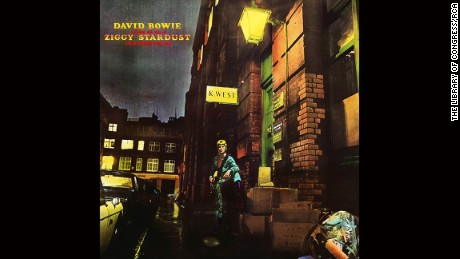"David Bowie, ""Ziggy Stardust"" album cover."