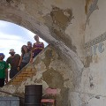 Italy Zannone tourists inside villa c_Luca Cardello courtesy IAT Latina
