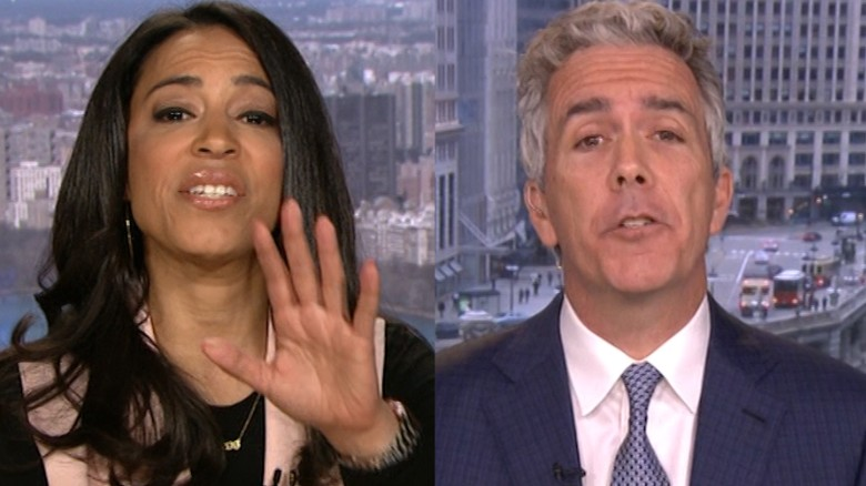 Angela Rye Shuts Down Joe Walsh With 'I'm Not Talking To Bigots'