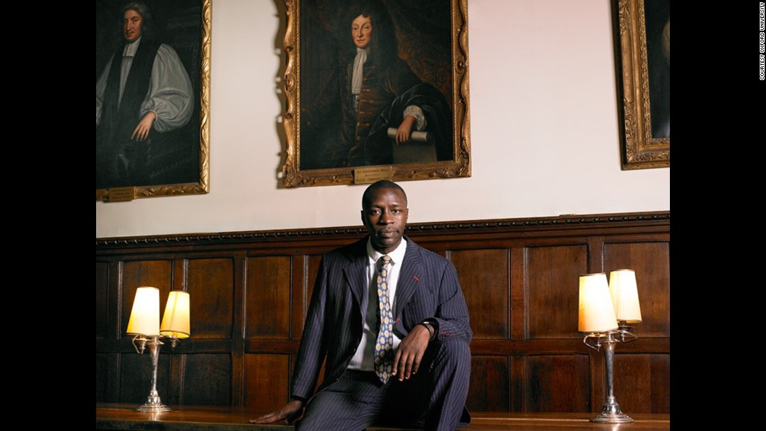 "British novelist Diran Adebayo studied law at Oxford and worked as a print journalist and television producer before published his first novel, ""Some Kind of Black,"" in 1996. He was photographed by Rory Carnegie."