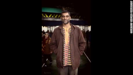 Kumi Naidoo, anti-apartheid activist and climate change champion, is another of the new faces on Oxford walls.