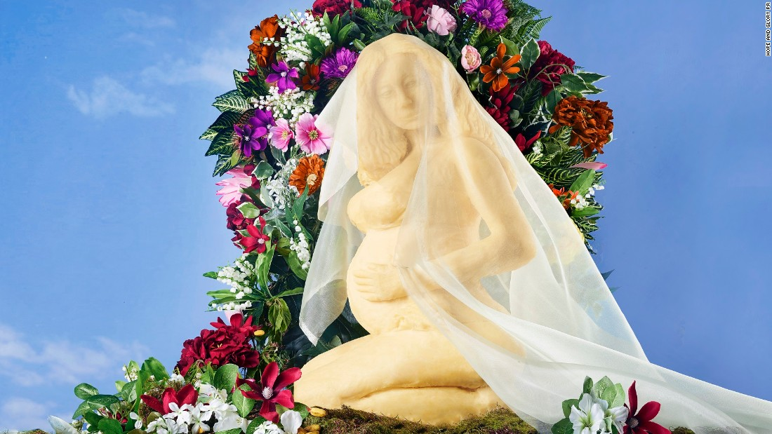 What Do You Call A Beyoncé Statue Made Of Cheese? Brie-Once!