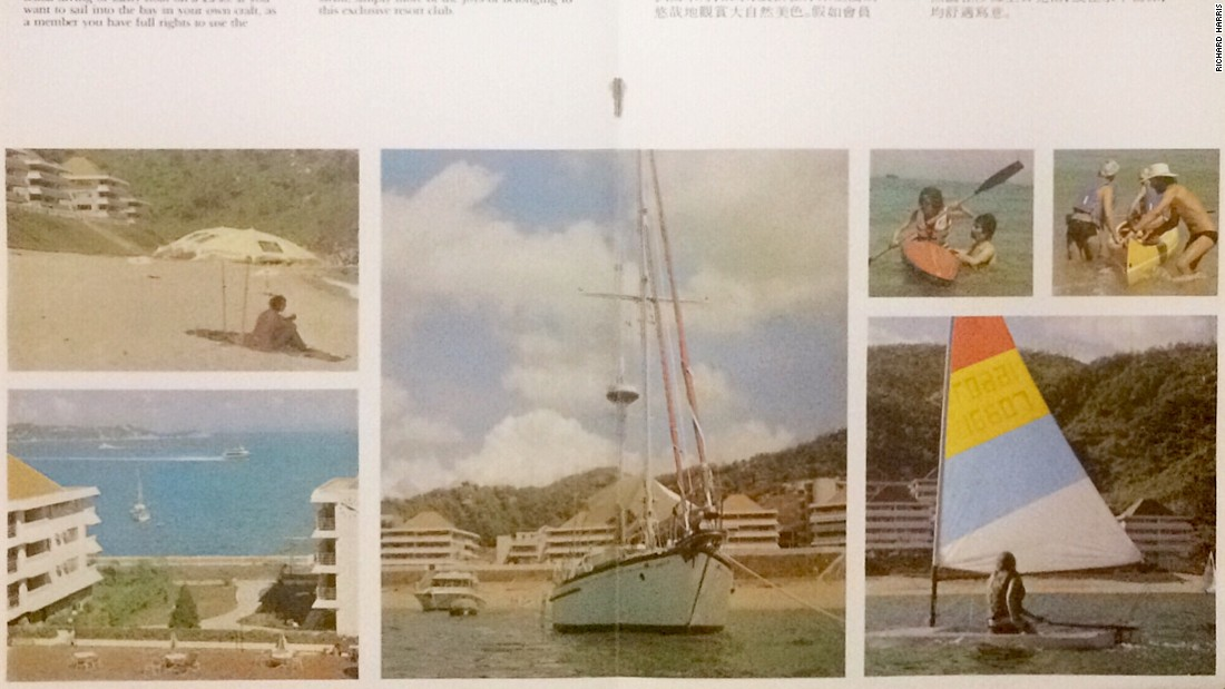 This promotional brochure from the 1980s shows off the Sea Ranch's facilities, which included a private ferry service and water sports facilities.