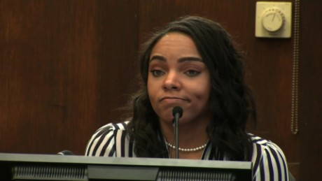 Aaron Hernandez's fiancee, Shayanna Jenkins Hernandez, testified in his double-murder trial on Thursday.