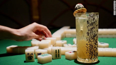 Dim Sum Library offers cocktails, dim sum, and mahjong.