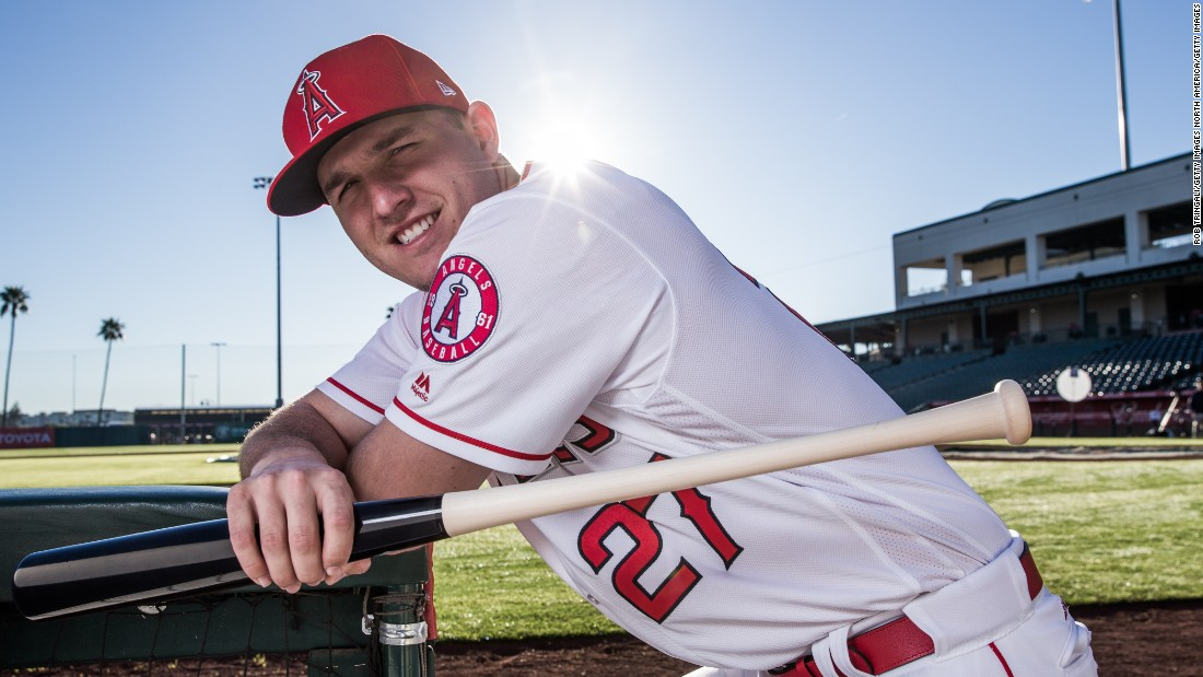 Los Angeles Angels centerfielder Trout is widely considered the most dominant position player in the sport. The 25-year-old signed a six-year, $144.5 million deal which will catapult his 2018 salary to over $34 million.