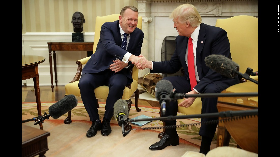 "President Trump shakes hands with Danish Prime Minister Lars Lokke Rasmussen as Rasmussen visited the White House on Thursday, March 30. <a href=""http://www.cnn.com/2017/03/24/politics/gallery/week-in-politics-0325/index.html"" target=""_blank"">See last week in politics</a>"