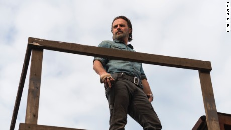 Andrew Lincoln in 'The Walking Dead'