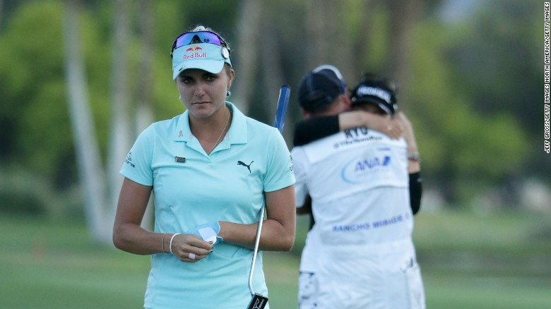 LPGA  head: I feel horrible for Lexi Thompson