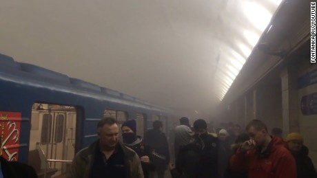 St. Petersburg metro explosion: At least 11 dead in Russia blast