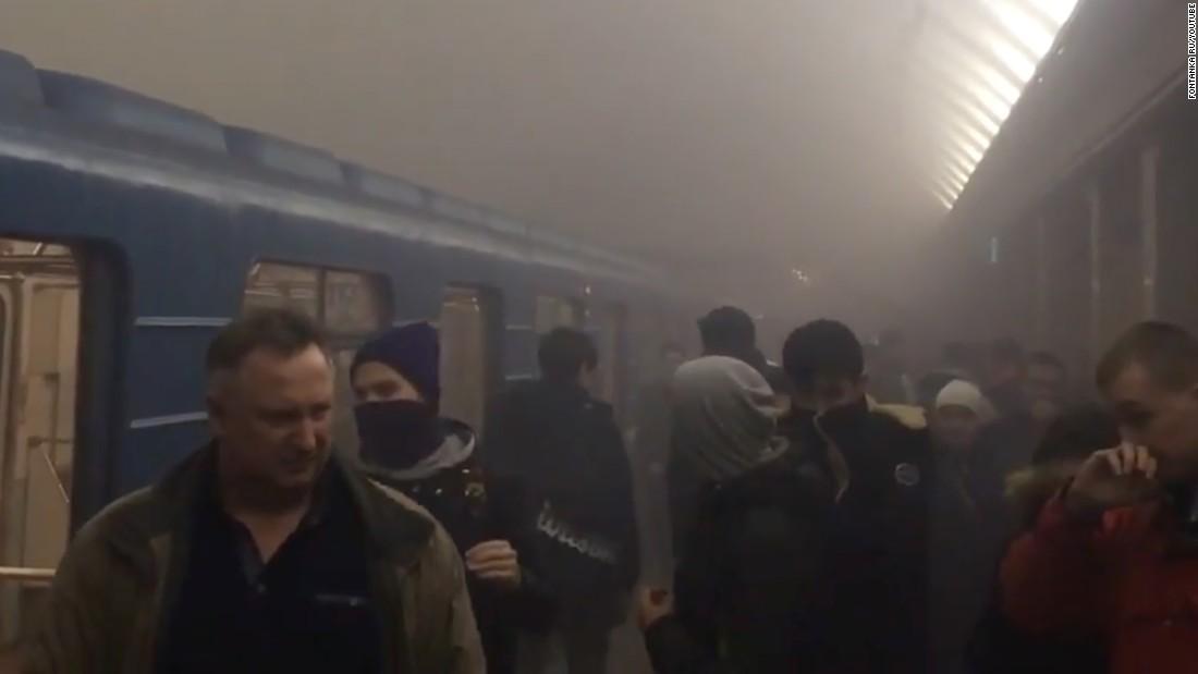 St. Petersburg Russia blast