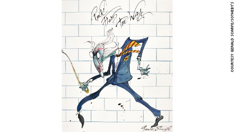 """The Teacher"" by Gerald Scarfe"