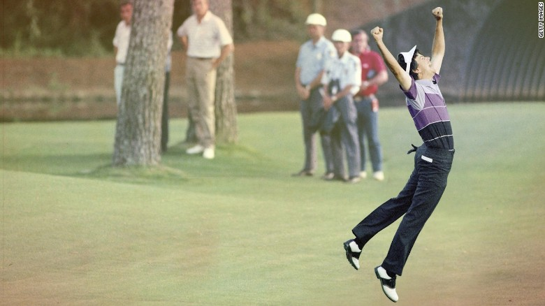 Larry Mize and the 'impossible' shot that won the Masters