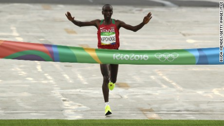 Kenyan Marathoner Eliud Kipchoge Misses Two-Hour Marathon Record By Seconds