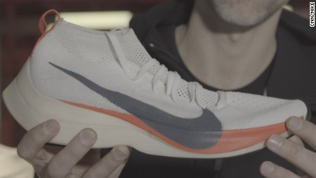 The shoe Nike hopes will power a two-hour marathon.