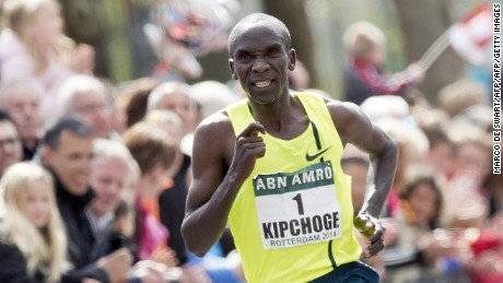 Kenyan runner comes close, but 2-hour marathon barrier remains unbroken