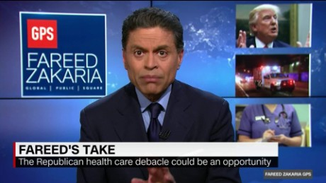 Fareed's Take: Trump's health care plan
