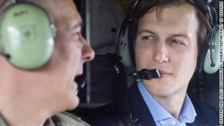 Jared Kushner went to Iraq, and there are photos to prove it