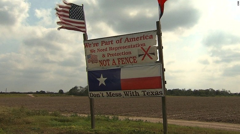 Private land could be seized to build wall